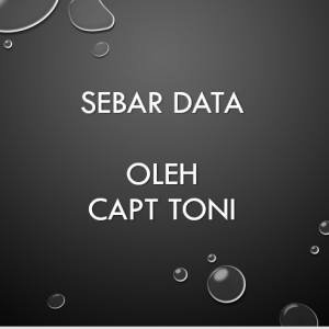 Sebar Data by Capt Toni
